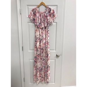 Show Me Your Mumu Off the Shoulder Maxi Dress